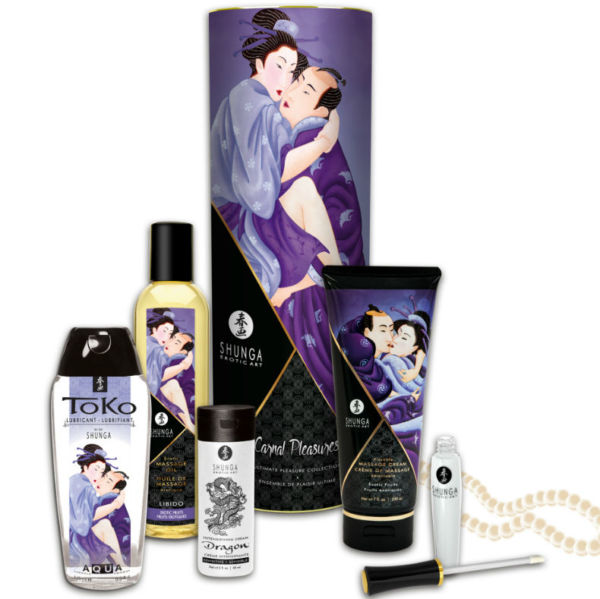 COLECCIÓN PLACERES CARNALES by Shunga 1