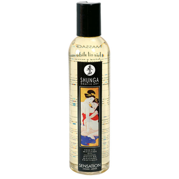 EROTIC MASSAGE OIL SENSATION 1