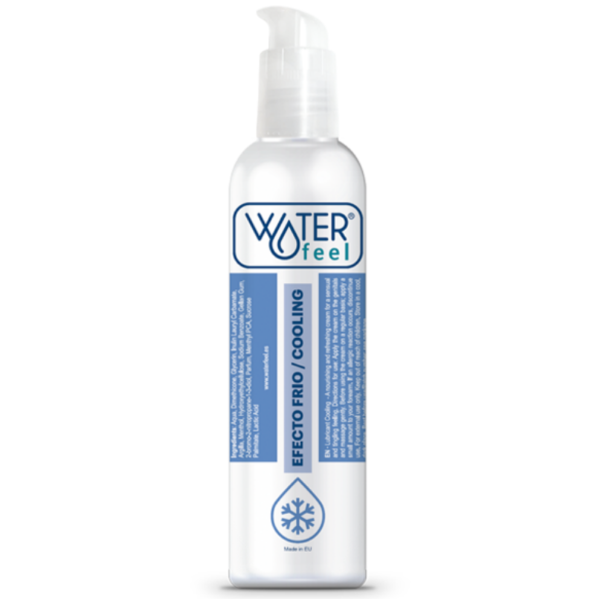 LUBRICANTE EFECTO FRIO 150ML by Waterfeel 1
