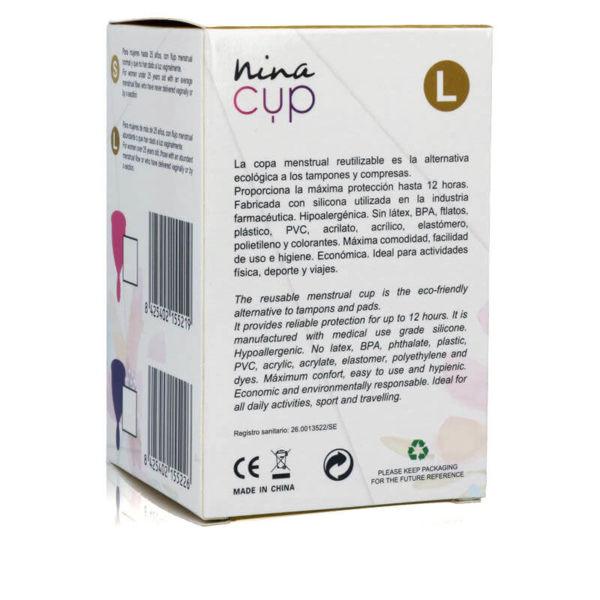 Copa menstrual Nina Cup 2