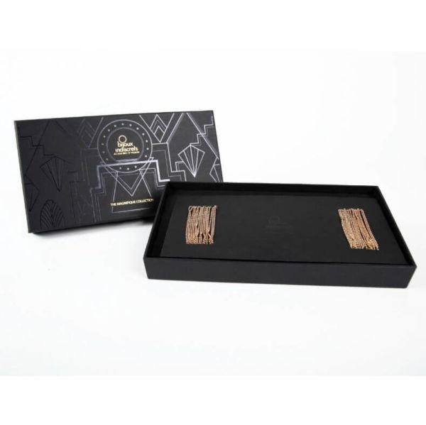 Joya De Cadenas Metálicas Para Hombros Y Espalda De Bijoux Magnifique 2