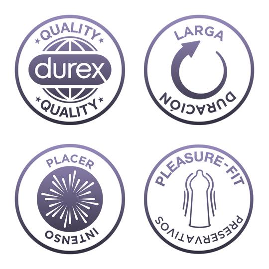 Condones Durex Intense Orgasmic 6 Unidades 3