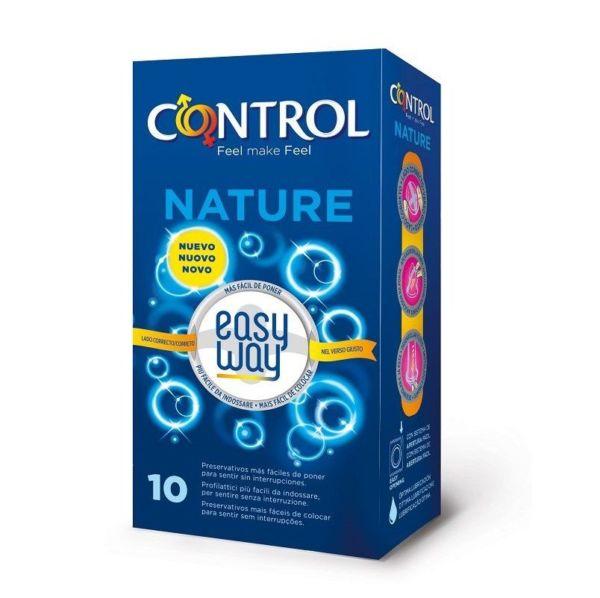 Condones Control Nature Easyway 10 Unidades 1