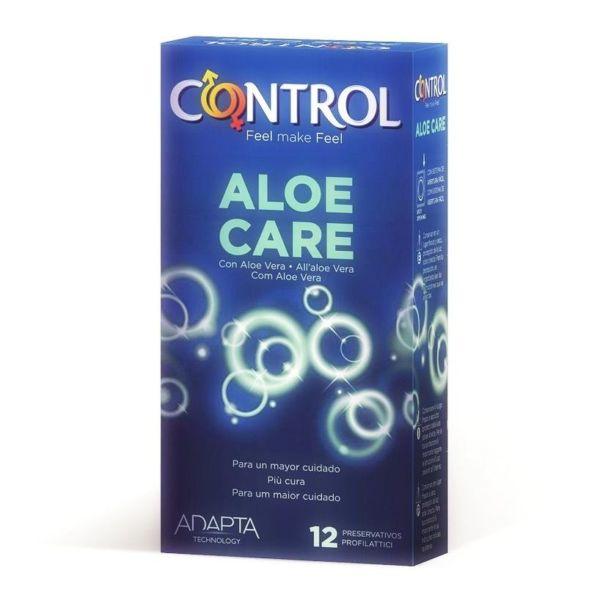 Preservativos Control Adapta Aloe Vera 12 Unidades 1
