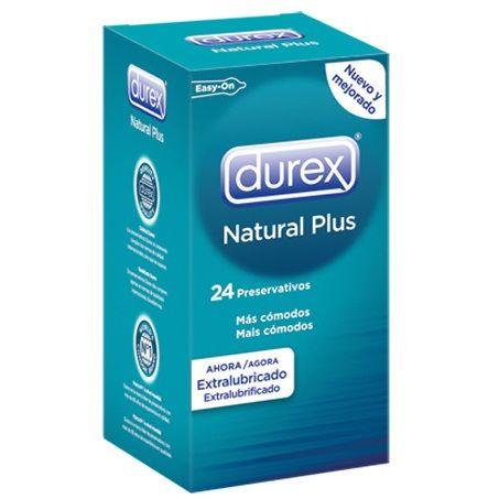 Preservativos Durex Natural Plus 24 Unidades 1