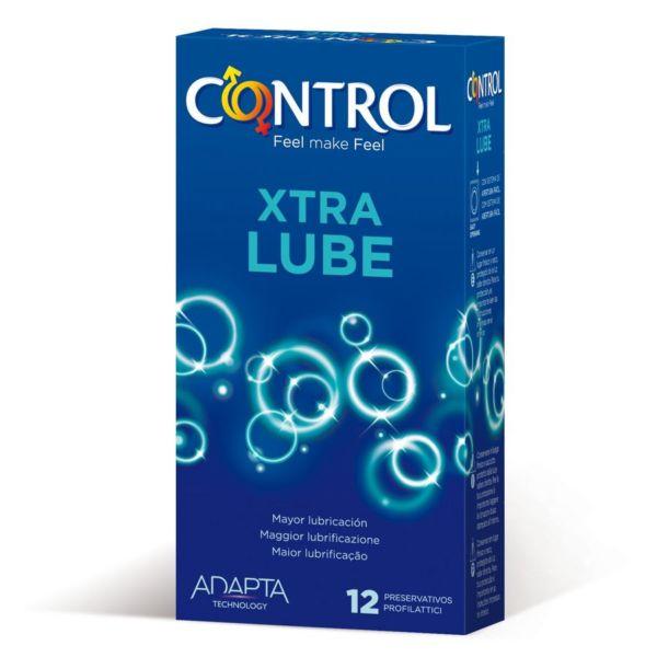 Preservativos Control Extra Lube 12 Unidades 1