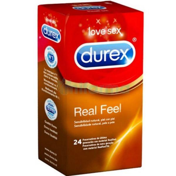 Preservativos Durex Real Feel 24 Unidades 1