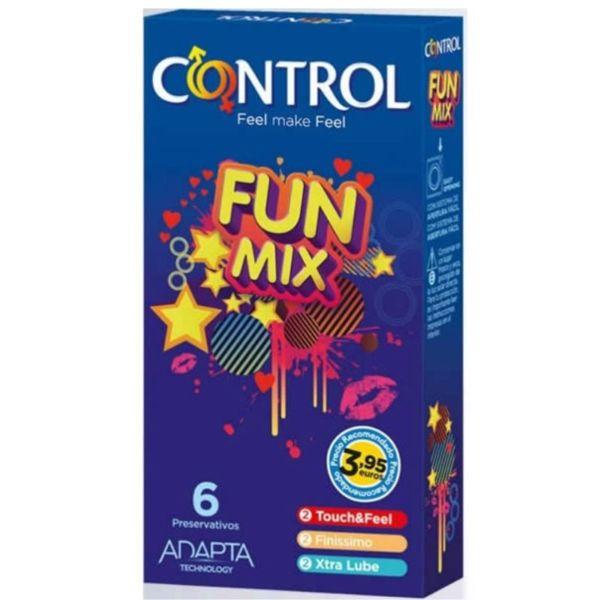Preservativos Control Feel Fun Mix 6 Unidades 1