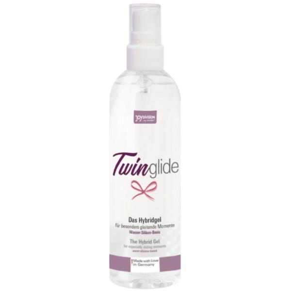 Twinglide Lubricante Base Agua Y Silicona - 100 ml de Aquaglide 1