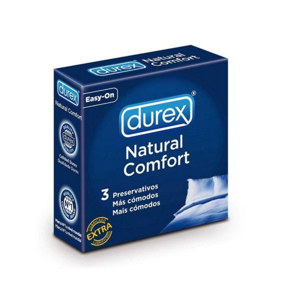 Condones Durex Natural Comfort 3 Unidades 1