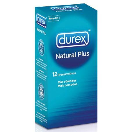 Preservativos Durex Natural Plus 12 Unidades 1
