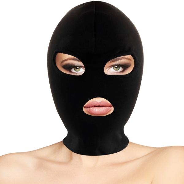 BDSM Máscara Sumisión Boca y Ojos negro by Darkness 1