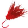 Pluma Estimuladora Rojo 17cm by Darkness 2