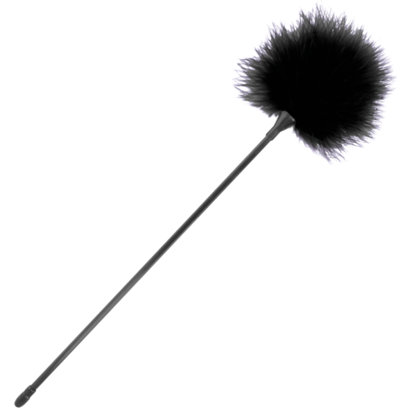 Pluma Estimuladora negro 42cm by Darkness 1