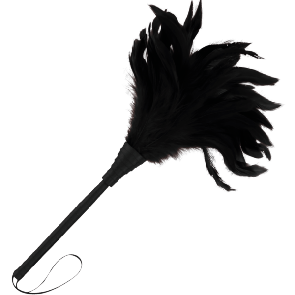 Pluma Estimuladora negro Lux by Darkness 1