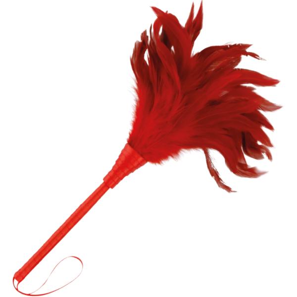Pluma Estimuladora Rojo 24cm by Darkness 1