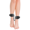 Esposas Ajustables Tobillos Leather negro by Darkness 2
