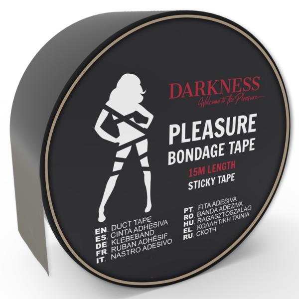Cinta para Bondage negro Adhesiva 15m by Darkness 1