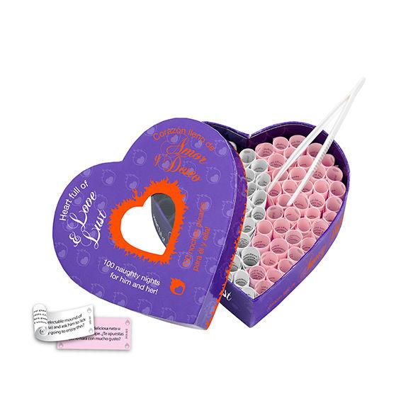 HEART FULL OF LOVE & LUST & CORAZON LLENO DE AMOR & DESEO (EN-ES) 1