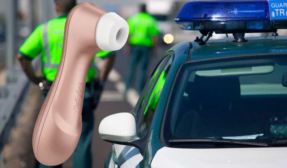 robo satisfyer Guardia Civil